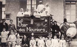 Carnaval - Char Des Meuniers - Carte Photo Henri Pissot - France