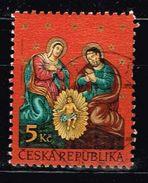 Tschechien 2000, Michel# 277 O Christmas - Czech Republic
