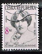 Tschechien 1996, Michel# 114 O Europa 1996 - Ema Destinnova (1878~1930) - Usati