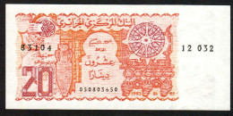 ALGERIA :  20 Dinars - P133a - 1983  - UNC - Algeria
