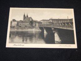 Germany Magdeburg Strombrucke -29__(18521) - Magdeburg