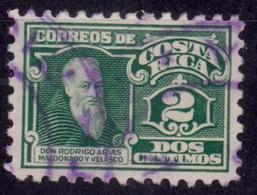 Costa Rica 1924, Rodrigo Moldonado, 2c, Used - Costa Rica