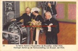 Cote D'Or - La Reine Astrid - Koningin Astrid - Serie 2 - Nr.22 - Côte D'Or