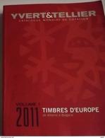 YVERT & TELLIER 2011  EUROPA: ALBANIA-BULGARIA VOL. 1 - Cataloghi