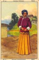 Finor Meurisse - Costumes Nationeaux - Nationale Kleederdrachten - Nr.43 - Thibet Tibet - Cioccolato