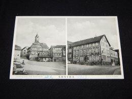 Germany Sontra Marktplatz Mit Rathaus -56__(18555) - Sontra