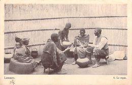 Afrique (Lesotho)  LESSOUTO Le Repas (Editions : Du Dépôt Du Livre Morija  N°6)*PRIX FIXE - Lesotho