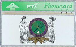 UK :  20  Wimbledon FOR WOMAN 1993 TENNIS   94000 Printed  USED - United Kingdom
