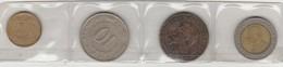 Lot Of 4 World Coins * Israel * France * Thailand * Yugoslavia - Kilowaar - Munten