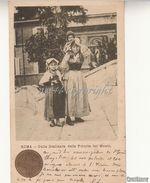 Mestiere_Costume _Costumi Romani_Roma_Sulla Scalinata Della Trinità Dei Monti_Vg 1902 X Il Belgio-Originale 100%_2 Scan- - Costumes