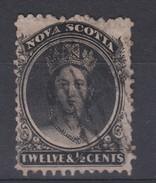 Nova Scotia 1860 12.5c Fine Used - Nova Scotia