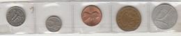 Lot Of 5 World Coins * Luxembourg * Norway * USA * Yugoslavia * Italy - Kilowaar - Munten