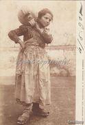 Mestiere_Costume _Tipi Napoletani_Portatrice D'Acqua_Vg Il 4.5.1901 X Luino Bosco-Originale 100%_2 Scan- - Costumes