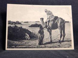 Libya Accampamento Di Una Cabila__(17466) - Libyen