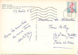 France & Chateau Et Ariége, Foix Para Gif-sur-Yvette 1962 (5574) - Covers & Documents