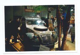 Photographie Originale Salon Rétro Mobile Paris Porte De Versailles VOITURE DE COLLECTION 2 CV 2004 - Automobiles