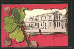 CPA Geneve, Conservatoire De Musique, Feuille De Trèfle - GE Genève