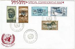CTN49/8 CHYPRE FDC ONU 5/5/1964 - Lettres & Documents