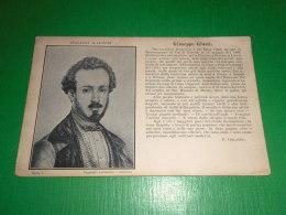 Cartolina Serie Italiani Illustri - Poeta Giuseppe Giusti 1809/1850 - Otros