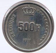 BOUDEWIJN * 500 Frank 1991 Frans  BELGIQUE * PRACHTIG * Nr 9326 - 1951-1993: Baudouin I
