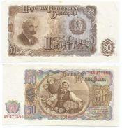 Bulgaria 50 Levas 1951 Pick 85.a Ref 258-2 - Bulgaria