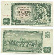 Checoslovaquia - Czeschoslovaquia 100 Korun 1961 Pick 91.c Ref 1331 - Checoslovaquia