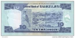 SWAZILAND P. 29c 10 E 2006 UNC - Swaziland