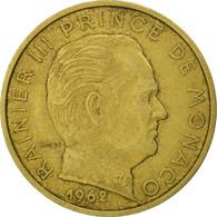 Monaco, Rainier III, 20 Centimes, 1962, SPL, Aluminum-Bronze, KM:143 - 1960-2001 Nouveaux Francs