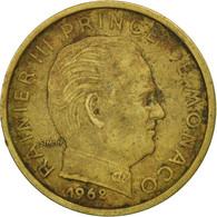 Monaco, Rainier III, 10 Centimes, 1962, SUP+, Aluminum-Bronze, KM:142 - 1960-2001 Nouveaux Francs