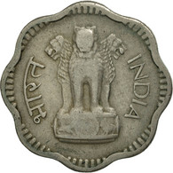 INDIA-REPUBLIC, 10 Naye Paise, 1957, SUP+, Copper-nickel, KM:24.1 - Inde