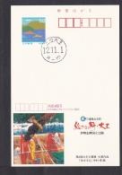 Japan Advertising Postcard Painting Bird Daiou Town (jadb1059) - Interi Postali