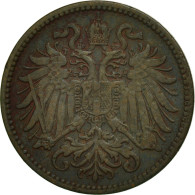 Autriche, Franz Joseph I, 2 Heller, 1912, TTB, Bronze, KM:2801 - Autriche