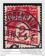 Denmark 1905-17, Royal Crown Numerals, 2o,  Used - 1905-12 (Frederik VIII)