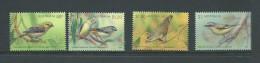 Australia 2013 Bird Pardalotes Set 4 MNH - 2010-... Elizabeth II