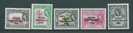 Guyana 1966 - 1968 Definitives 5 Values To $5 MNH - Guyana (1966-...)