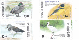 Hong Kong 1997, Birds Complete Set 4 Stamps MNH - Nice Topical Set- Red. Price - SKRILL PAY. ONLY - 1997-... Chinese Admnistrative Region