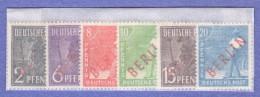 BER SC #9N21-32 MNH 1948-9 Definitives W/red Overprint, CV ~$425.00 - [5] Berlin