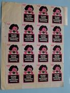 KAV Een Ander Verbruik Voor Een Andere Samenleving ( Sluitzegels Timbres-Vignettes Picture Stamps Verschlussmarken ) !! - Advertising