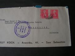 Spanien Cv. 1939  San Sebastian Cenzur - 1931-Hoy: 2ª República - ... Juan Carlos I