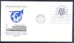 D448- FDC Of USA. Universal Postal Union. UPU. - Other