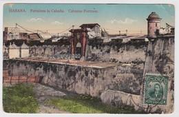 Cuba  Postcard To Chile 1914 Fortaleza De La Cabaña - Cuba