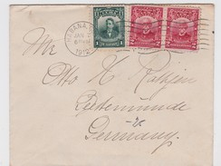 Cuba Cover To Germany 1912 - Lettres & Documents