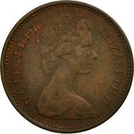Grande-Bretagne, Elizabeth II, 1/2 New Penny, 1976, TB+, Bronze, KM:914 - 1971-… : Monnaies Décimales