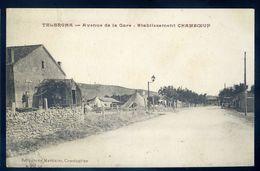 Cpa  D' Algérie  Telergma -- Avenue De La Gare établissement Chamboeuf       NCL103 - Algérie