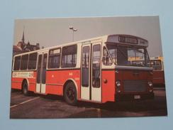 Bus Van HOOL ( FIAT Type 409 - AU 9 Reeks 646-662 ) Antwerpen : Anno 19?? ( Zie Foto's Voor Detail ) ! - Bus & Autocars
