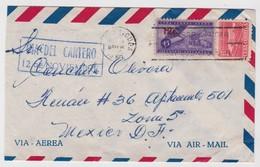 Cuba Cover To Mexico 1960 - Cuba