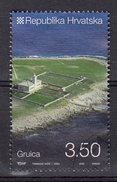 Kroatie, Hrvatska 2009 Mi Nr 916 , Vuurtoren, Lighthouse Op Eiland Gruica - Croatie