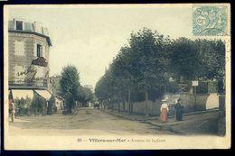 Cpa  Du 14  Villers Sur Mer  -- Avenue De La Gare     NCL103 - Villers Sur Mer
