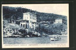 """Cartolina Portovenere, Albergo Ristorante """"Paradiso"""" - Altre Città"""
