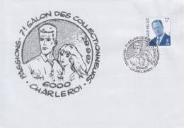 Enveloppe (1997-09-28, 6000 Charleroi) - Fox Et Edith ( BD ) - 01 - Poststempel